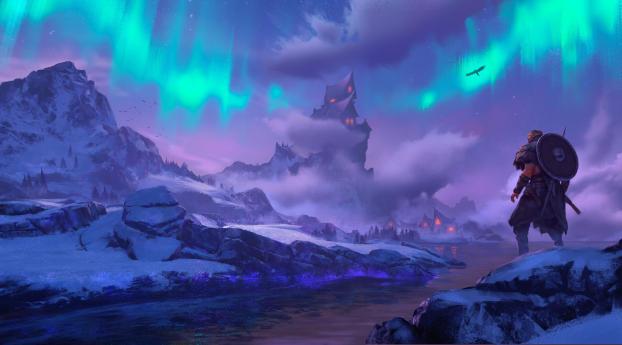 Assassins Creed Valhalla Winter Wallpaper