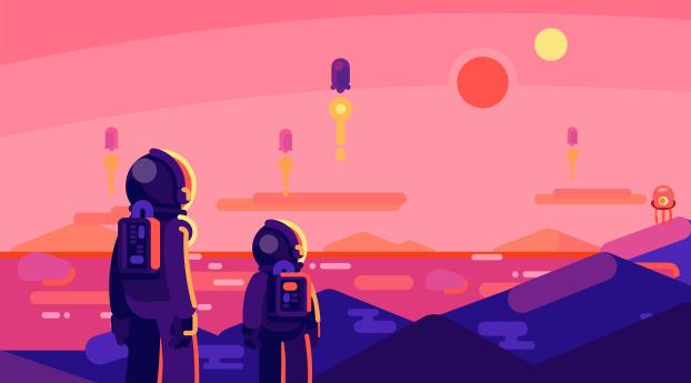 HD Wallpaper | Background Image Astronauts