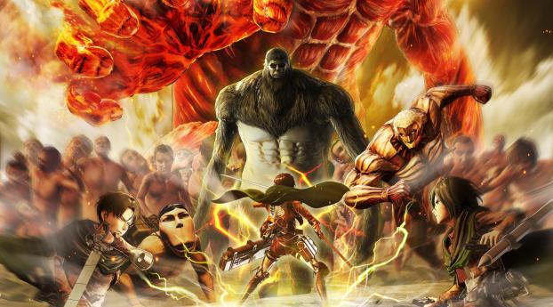 Attack on Titan Final Battle Wallpaper 1920x1080 Resolution