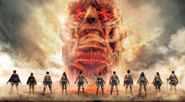 320x240 Attack On Titan Japanese Tv Series Poster Apple Iphone Ipod Touch Galaxy Ace Wallpaper Hd Tv Series 4k Wallpapers Images Photos And Background