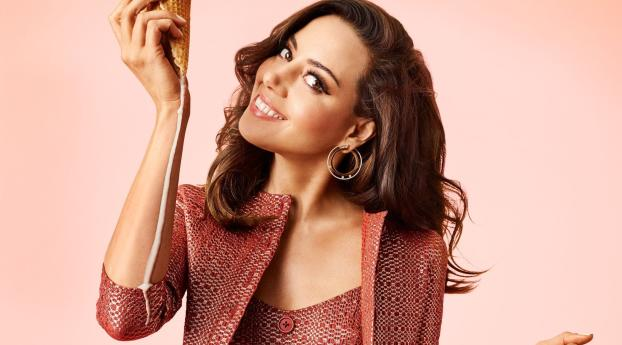 HD Wallpaper | Background Image Aubrey Plaza Cosmopolitan Photoshoot