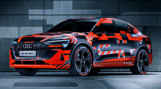 Audi E-Tron Wallpaper 1125x2436 Resolution