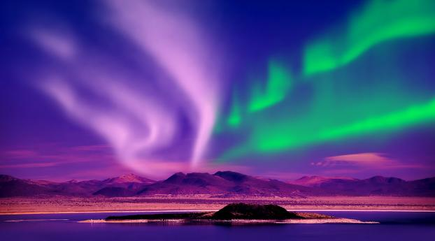 Aurora Borealis Canada Wallpaper in 1600x1200 Resolution