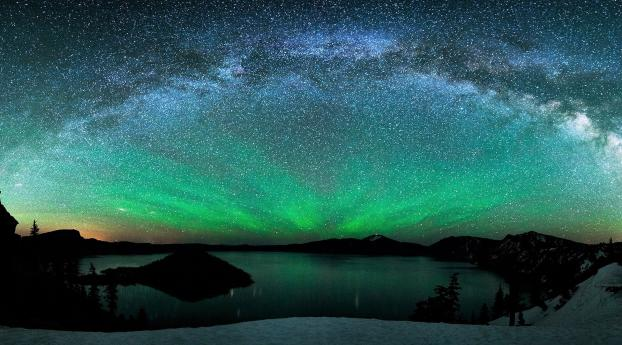 800x1280 Aurora Borealis Over Winter Lake Nexus 7 Samsung Galaxy Tab 10 Note Android Tablets Wallpaper Hd Nature 4k Wallpapers Images Photos And Background