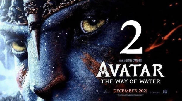 Avatar 2 The Way of Water Banner Wallpaper