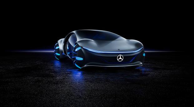 HD Wallpaper   Background Image Avatar Mercedes Benz Vision 8K