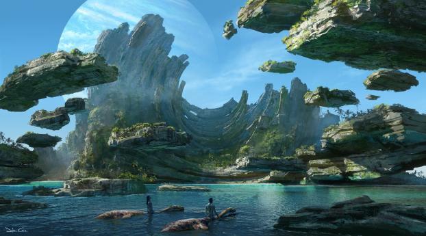 HD Wallpaper | Background Image Avatar Movie 2021 Art