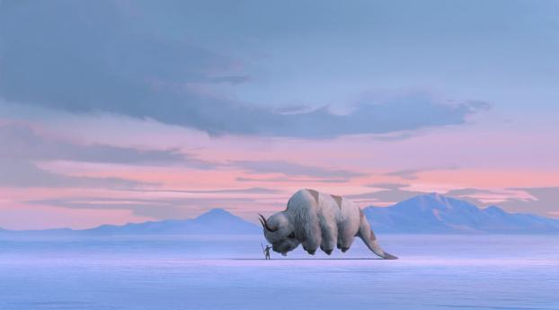 HD Wallpaper | Background Image Avatar Tv Show Netflix Concept Art