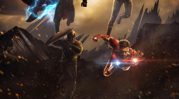 HD Wallpaper | Background Image Avengers 4 Deviantart