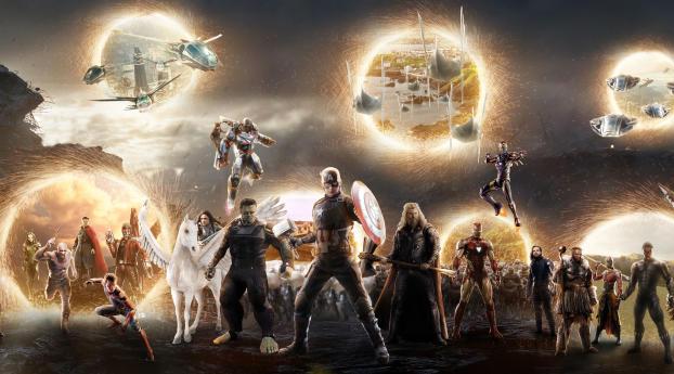 HD Wallpaper   Background Image Avengers Assemble