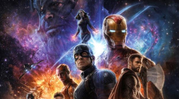 HD Wallpaper | Background Image Avengers Endgame 4K Poster