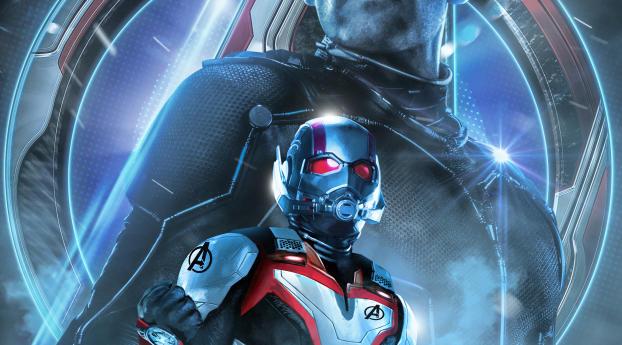 Avengers Endgame Ant-Man Poster Art Wallpaper