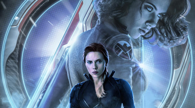 HD Wallpaper | Background Image Avengers Endgame Black Widow Poster Art