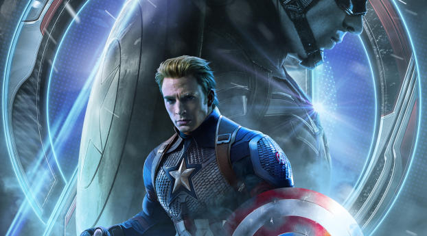 HD Wallpaper | Background Image Avengers Endgame Captain America Poster Art