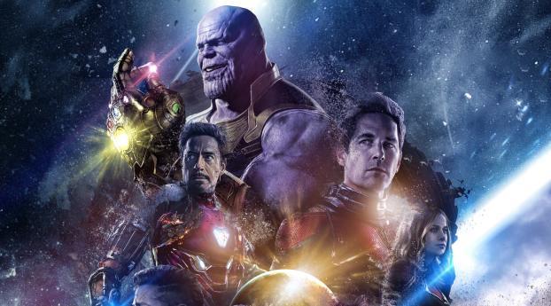 HD Wallpaper | Background Image Avengers Endgame FanArt