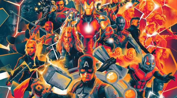 Avengers Endgame HD Poster Wallpaper
