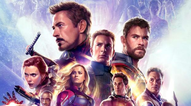 HD Wallpaper | Background Image Avengers Endgame IMAX Poster