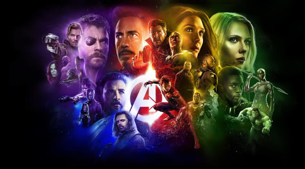 HD Wallpaper | Background Image Avengers Infinity War 2018 Latest Poster