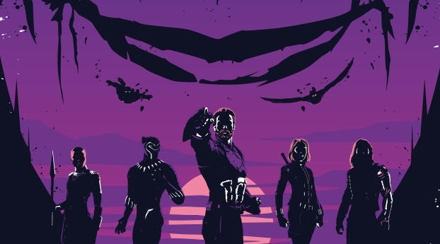 HD Wallpaper | Background Image Avengers Infinity War FanArt