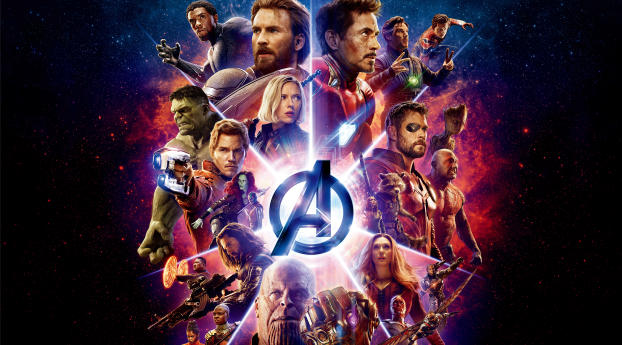 HD Wallpaper | Background Image Avengers Infinity War Latest Poster 2018