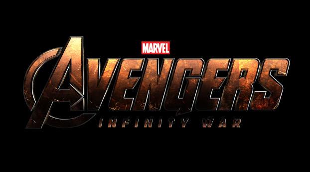 HD Wallpaper | Background Image Avengers Infinty War Logo