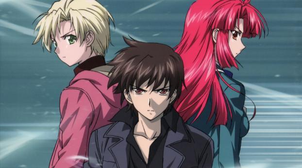 HD Wallpaper | Background Image Ayano Kannagi, Kazuma Yagami and Ren Kannagi