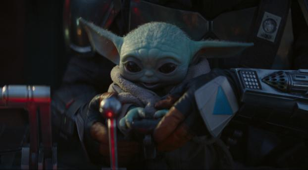 HD Wallpaper | Background Image Baby Yoda The Mandalorian 4K
