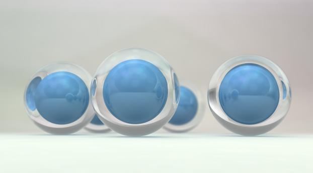 balls, shape, form Wallpaper