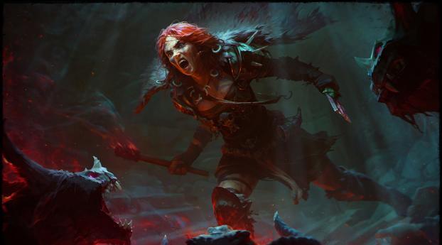 HD Wallpaper | Background Image Barbarian Diablo