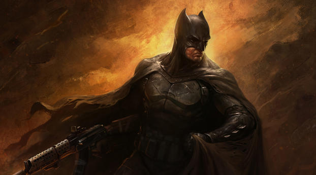 HD Wallpaper | Background Image Bat with Gun