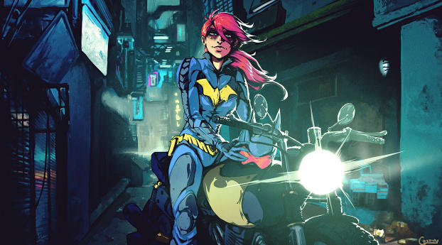 Batgirl Comic 2020 Wallpaper