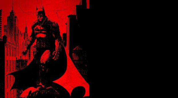 Batman 2021 Poster Wallpaper