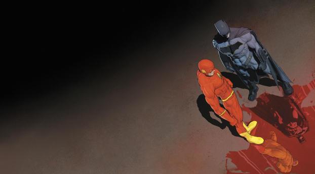 HD Wallpaper | Background Image Batman and the Flash DC Comics