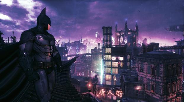 Batman Arkham Knight Poster Wallpaper 320x240 Resolution