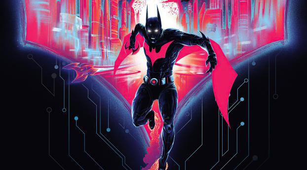 Batman Beyond New DC Comic Wallpaper