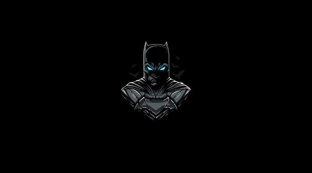 HD Wallpaper | Background Image Batman DC Minimalist