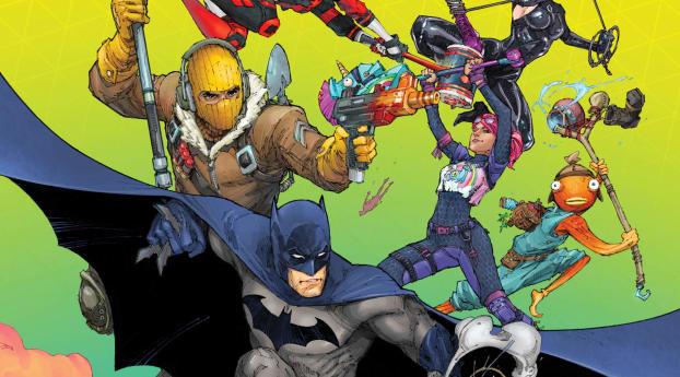 Batman Fortnite Zero Point Comic Wallpaper 720x1280 Resolution