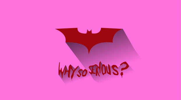 HD Wallpaper | Background Image Batman Logo Why So Serious