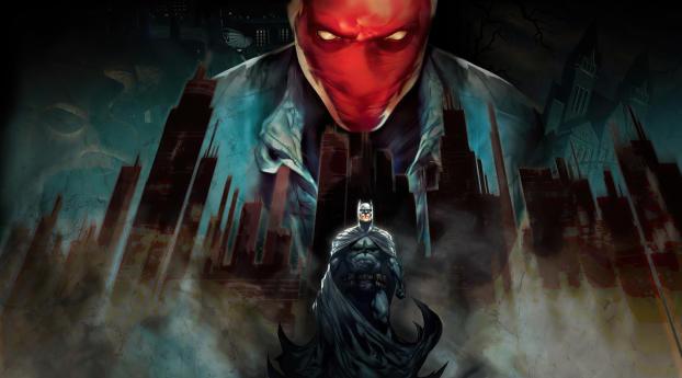 Batman Under the Red Hood Wallpaper 2560x1440 Resolution