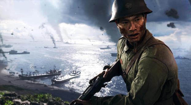HD Wallpaper | Background Image Battlefield V 2019