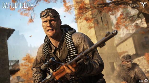 HD Wallpaper   Background Image Battlefield V Defying The Odds