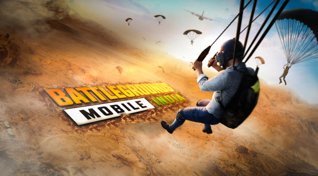 BATTLEGROUNDS mobile INDIA Wallpaper