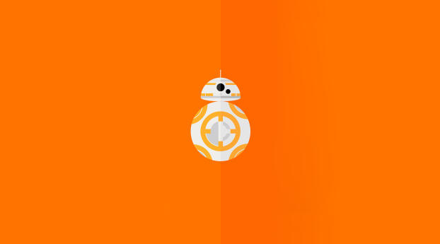 HD Wallpaper | Background Image BB8 Minimal