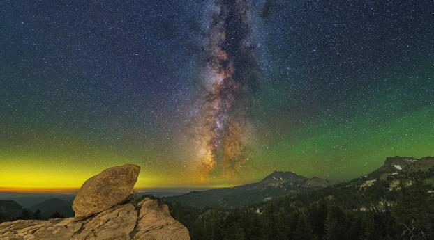 HD Wallpaper | Background Image Beautiful Milky Way Night
