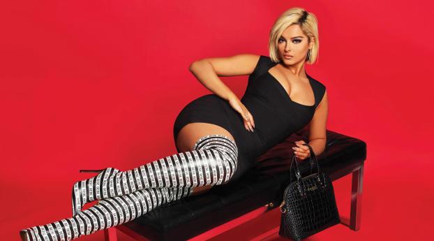 HD Wallpaper | Background Image Bebe Rexha Black Dress