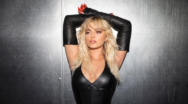 Bebe Rexha in Black Wallpaper
