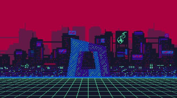 Beijing Cctv 8 Bit Wallpaper