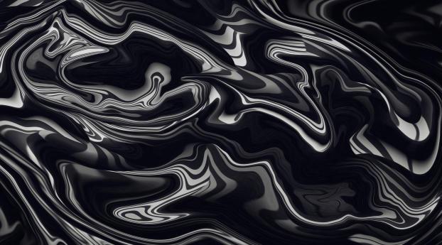 Black Color Liquid 4K Wallpaper 750x1334 Resolution