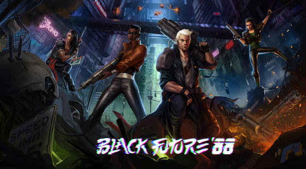 HD Wallpaper | Background Image Black Future 88 Game