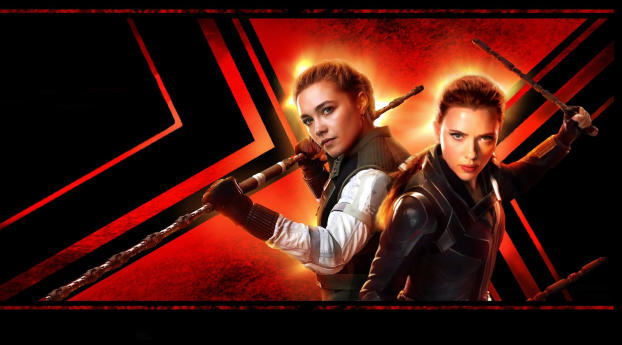 Black Widow Movie IMAX Poster Wallpaper 1280x2120 Resolution